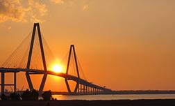 Sunset Over Ravenel Bridge by Matt Broome