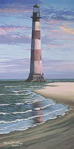 Morris Island Lighthouse by Michael Getsinger